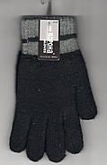 Перчатки мужские шерстяные двойные с начёсом Корона, ассорти, 8101, фото 2