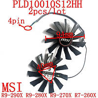 Охлаждение видеокарты кулер вентилятор PLD10010S12HH 94mm 4pin