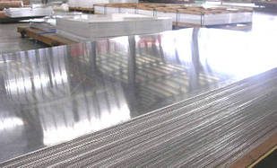Лист алюминиевый гладкий 2х1250х2500 мм АМГ2, АМГ3, АМГ5, АМГ6