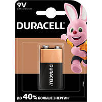 Батарейки Duracell 9V крона