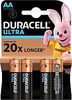 Батарейки Duracell ultra AA LR6