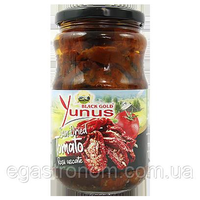 Помідори в'ялені Юнус Yunus dried tomato 340g 12шт/ящ (Код : 00-00006082)