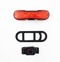Задній стоп Myspace USB 30 Lumens для велосипеда usb-шнур (DEN-068)