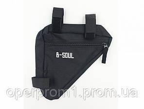 Сумка велосипедная в раму B-Soul (BAO-002)