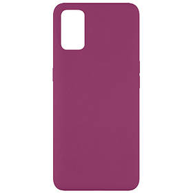 Чохол Silicone Cover Full without Logo (A) для Oppo A52 / A72 / A92