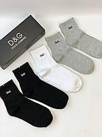 Шкарпетки D&G комплект шкарпеток у фірмовій упаковці преміум якість копія репліка, фото 1