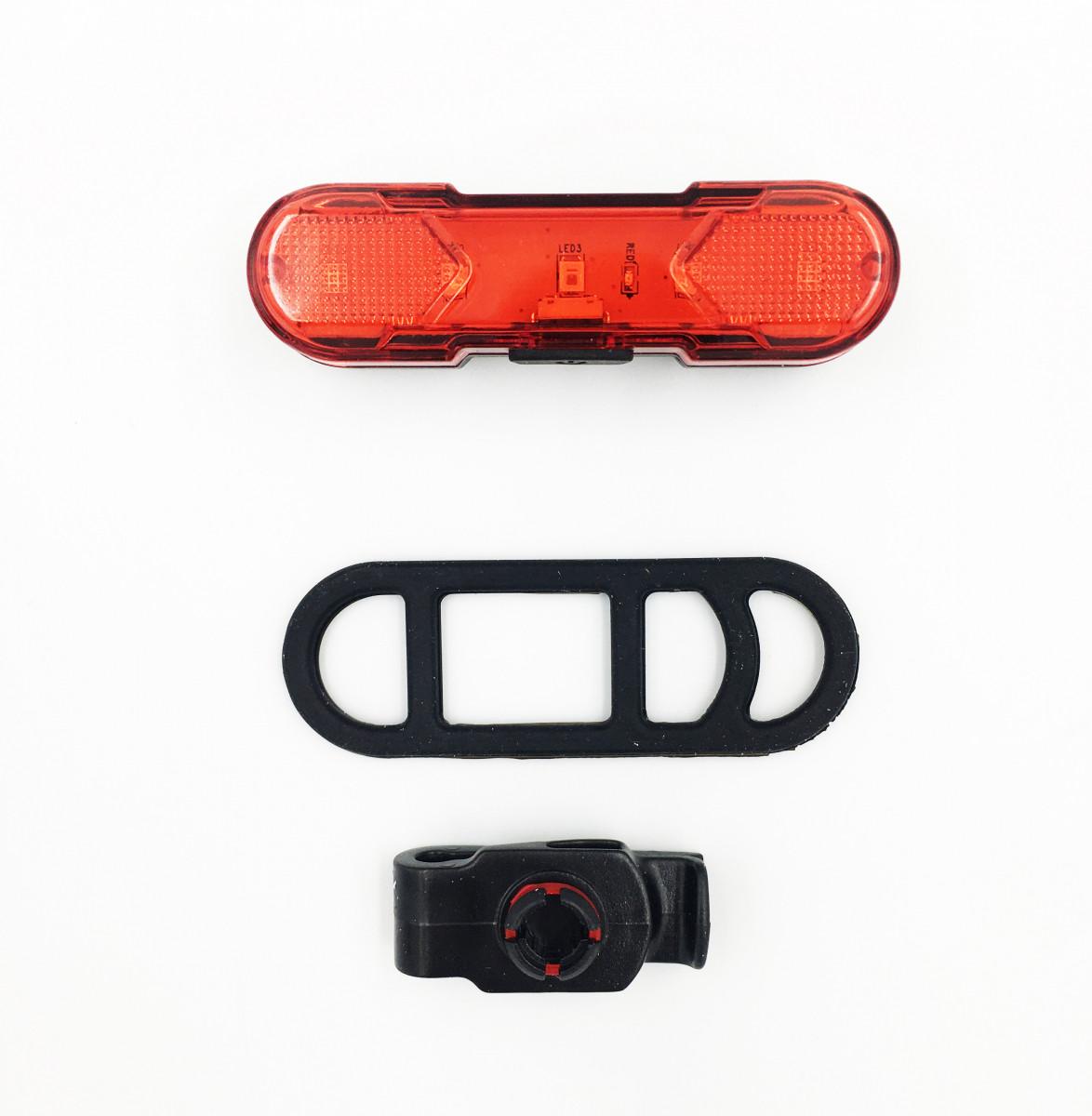 Задний стоп Myspace USB 30 Lumens для велосипеда usb-шнур (DEN-068)