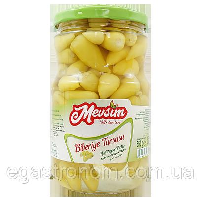 Перець гострий Mevsim Biberiye Tursusu Pepper (скло) 650/350g 12шт/ящ (Код : 00-00006075)