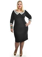 Платье прямое,размеры 48-62,модель ДК 542, фото 1