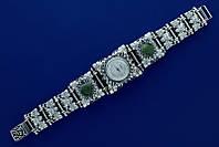 Серебряные наручные часы 56