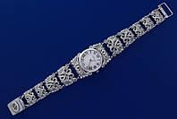 Серебряные наручные часы 57