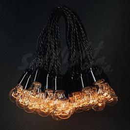 Ретро гирлянды из ламп накаливания