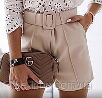 Женские высокие классические шорты