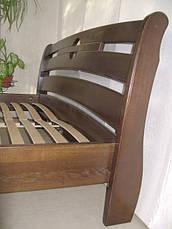 """Дерев'яні меблі для спальні від виробника """"Каприз"""" (ліжко з тумбочками), фото 3"""