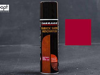 Краска для замши малиновая восстанавливающая Tarrago Nubuck Suede Renovator, 250 мл,TCS19 (101)