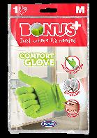 Bonus B012 рукавички гумові Comfort Glove 1 пара M