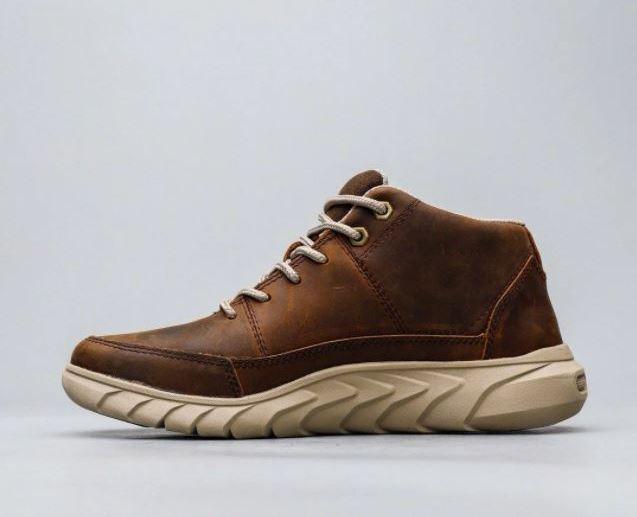 Кожаная обувь осень-зима