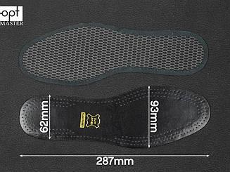 Стельки для обуви Saphir Black leather on charcoal (226) 44
