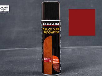 Краска для замши красная восстанавливающая Tarrago Nubuck Suede Renovator, 250 мл, TCS19 (12)