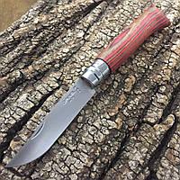 Нож Opinel №8 VRI Laminated. Цвет - красный
