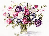 Luca-s Набор для вышивания Тюльпаны