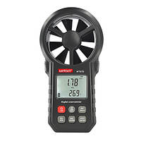 Крильчатий Анемометр USB, Bluetooth 0,3-30м/с, -10-45°C WINTACT WT87B