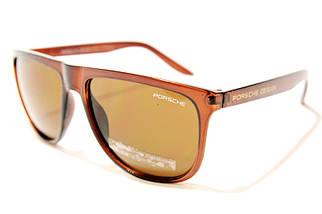 Мужские солнцезащитные очки Порше 5302 C3 реплика Коричневые