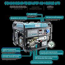 Генератор бензиновый Konner&Sohnen KS 10000E ATS (8кВт), фото 3