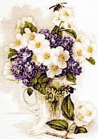 Luca-s Набор для вышивания Ваза с цветами жасмина