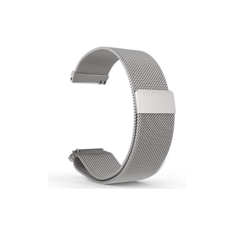 Ремешок для часов Milanese Magnetic (миланская петля) Металлик 38/40 mm