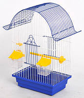 Клітка для папуги Ретро (280х180х450) пофарбована різні кольори