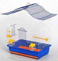 Клітка для папуги Лорі (470х300х620) мм пофарбована різні кольори