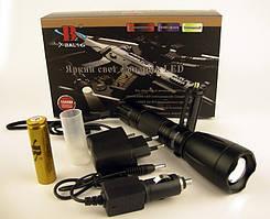 Тактичний ліхтар Bailong BL-1892-T6 50000W