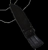 Чохол для ножа плоский - шкіра № 3 (3,2/140)