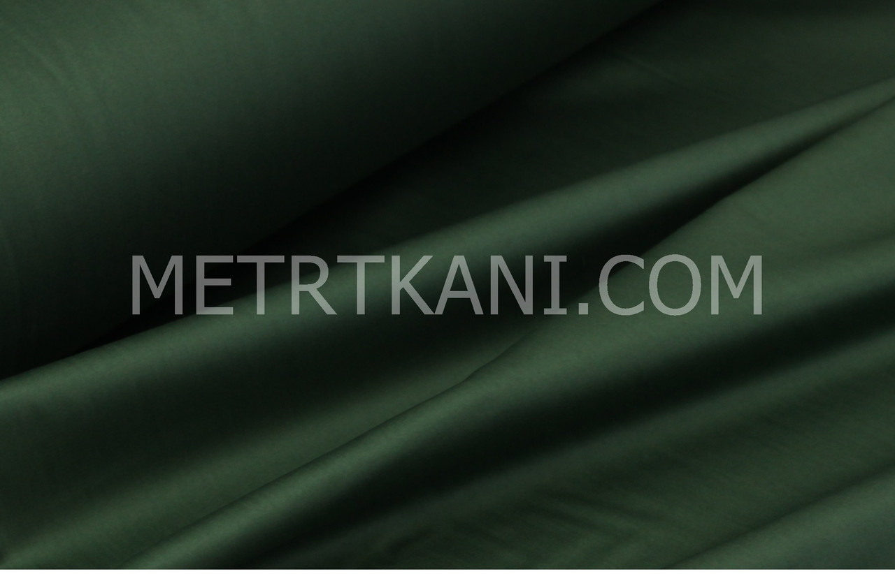 Клаптик. Сатин преміум, зеленого кольору ширина 240 см № ПС-0053, 72*240 см