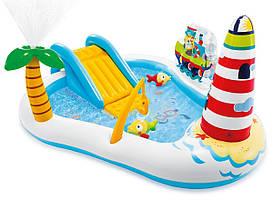 Надувний Водний Ігровий Центр Весела Рибалка Intex 57162
