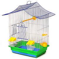 Клітка для папуги, амадинн, канарки Міні 3 330х230х470мм різні кольори