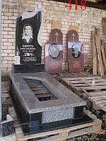 Памятник из серого гранита, фото 1