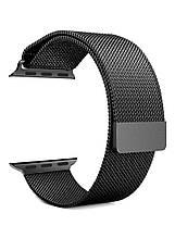 Ремешок Milanese Loop для Apple Watch Black 42/44 mm