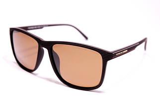 Мужские солнцезащитные очки Порше P1048 C3 реплика Коричневые с поляризацией