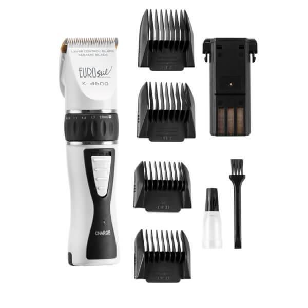 Профессиональная машинка для стрижки волос Eurostil К.3600 White 03752