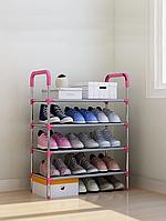 Полиця для взуття Shoe rack (4 полиці, 12 пар) WM-65