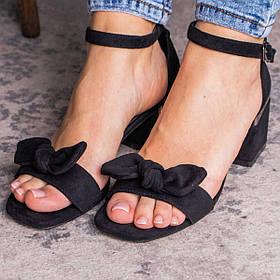 Женские босоножки Fashion Abner 2736 36 размер 23,5 см Черный