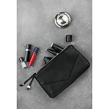 Жіноча шкіряна сумочка чорна