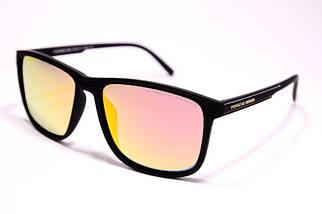 Мужские солнцезащитные очки Порше P1048 C4 реплика Черные с поляризацией