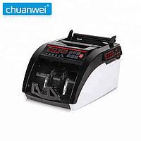 Счетная машинка валют CHUANWEI AL-6100 с ультрафиолетовым (УФ) и магнитным (MG) обнаружением банкнот