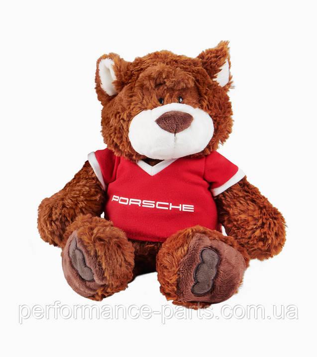 Плюшевий ведмедик Porsche, коричневий, червоний, WAP0401020LKID