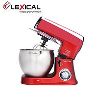 Кухонний комбайн 3в1 LEXICAL LMB-1803 з металевої чашею 8.5 л 1500W / Тістоміс, міксер