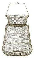 Садок рибальський металевий круглий 38см діаметр
