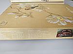 Комплект постільної білизни ELWAY (Польща) 3D LUX Сатин Євро Подарункова упаковка (220), фото 3